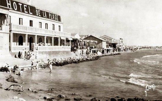 Carte postale de l 39 hotel de la plage la belle poque for Hotels grau du roi