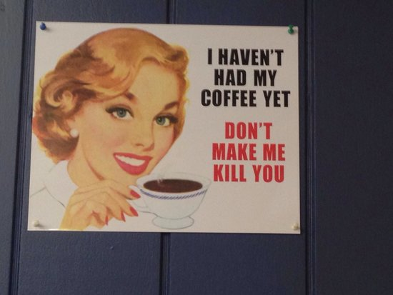 Brandon & Laura's Cafe: Sums it up.