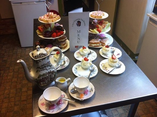 Lily's Victorian Tearooms & Restaurant: Fab food...