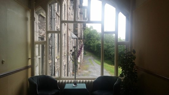 The Cumbria Grand: View from the lobby window