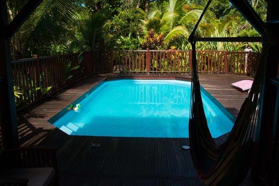 Ti Plen Kreol: La piscine