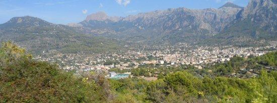 Hotel JS Sol de Alcudia: View from mountain train