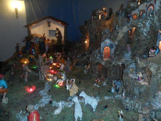 Santuario di Montenero: Il Presepe