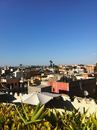 Riad Ambre et Epices : View from the terrace