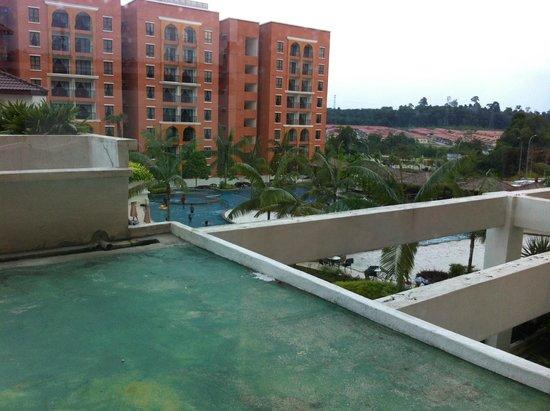 Bukit Gambang Resort City : View from room