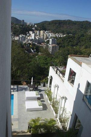 The Villa: panoramic view