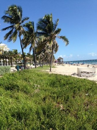 Tropic Isle Beach Resort: Beach of Deerfield