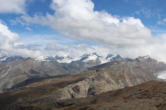Matterhorn Glacier Paradise: View