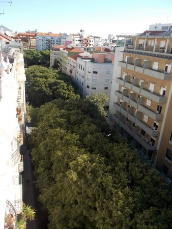 Real Parque Hotel : View from our room