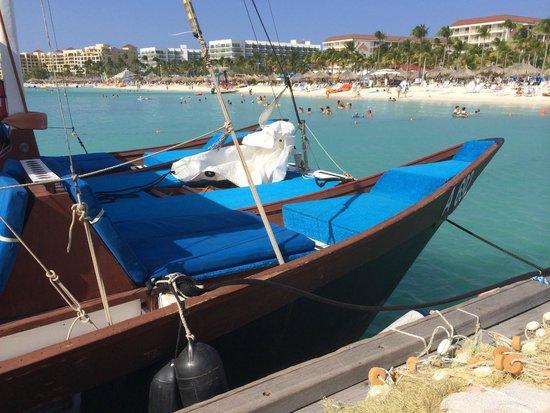 Blue Melody & Black Pearl Sailing: Waiting to board.
