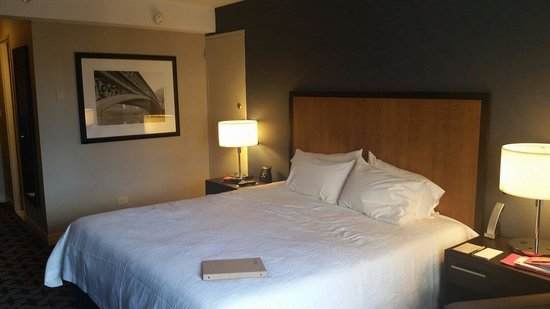 هيلتون جاردن إن تايمز سكوير: Lovely size room