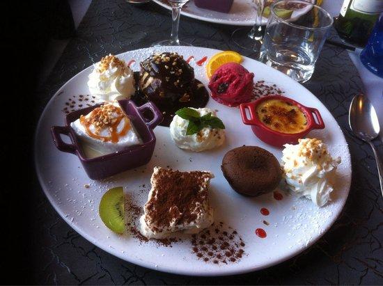 farandole de dessert photo de la gourmandise la loupe tripadvisor