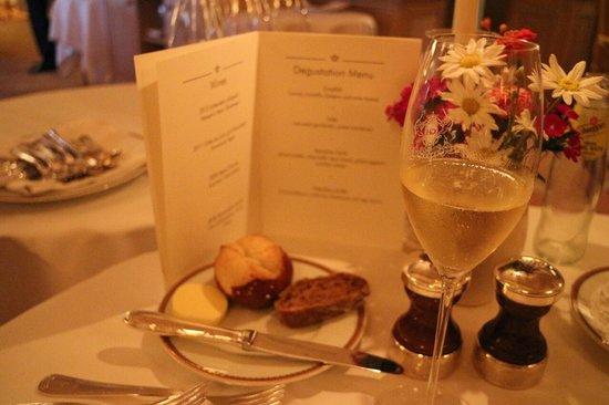 Gourmet Restaurant Koenigshof : The menu