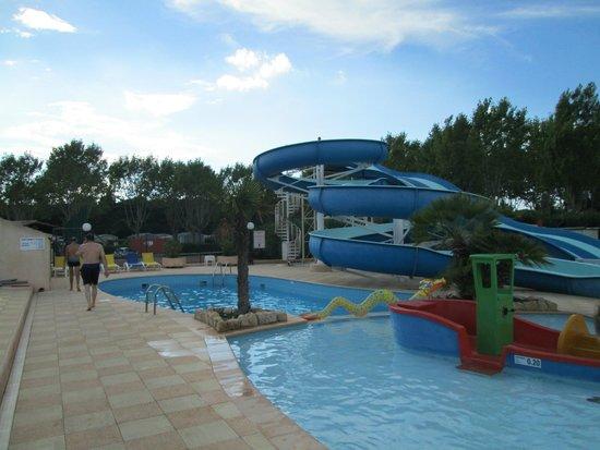 Camping Sandaya Riviera d'Azur: tobogans