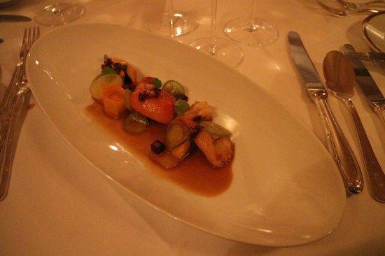 Gourmet Restaurant Koenigshof : Crayfish with a twist