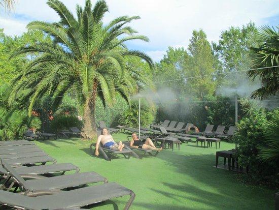 Camping Sandaya Riviera d'Azur: brumisateurs
