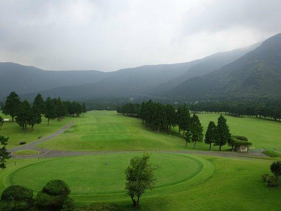 Hakone Sengokuhara Prince Hotel : 外はゴルフコース