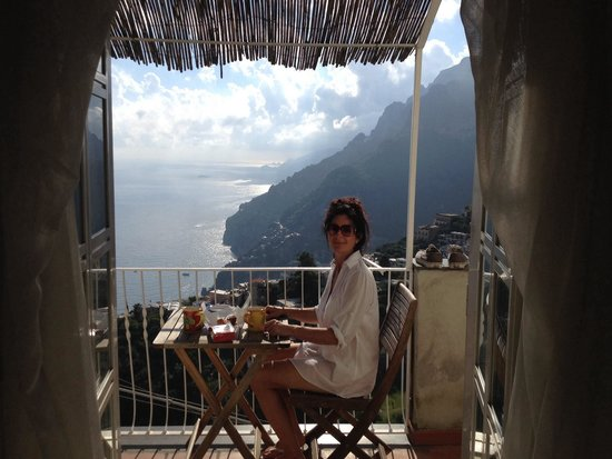 B&B Mamma Rosa Positano: Picture that tells the story. Outstanding views from Mama Rosa s