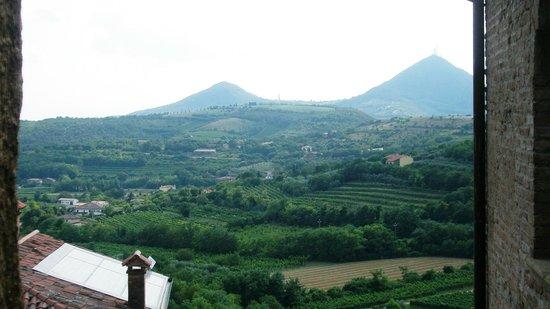 Casa del Petrarca: Вид из окна