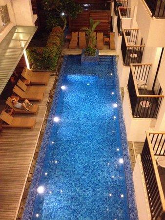PING Hotel Seminyak Bali: Second level view
