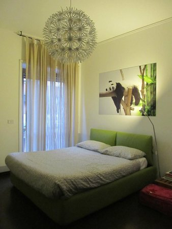 Bamboo B&B: Our lovely room - the Panda room