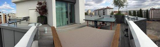 Mama Shelter Lyon : Terrace panorama