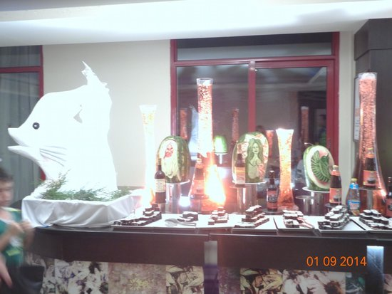 Hotel Riu Kaya Belek : ужин