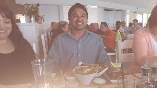 Harbour House : A happy customer