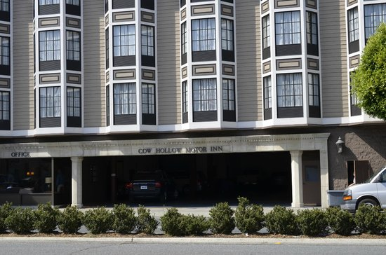 Exterior Of Cow Hollow Motor Inn Picture Of Cow Hollow Inn And Suites San Francisco Tripadvisor