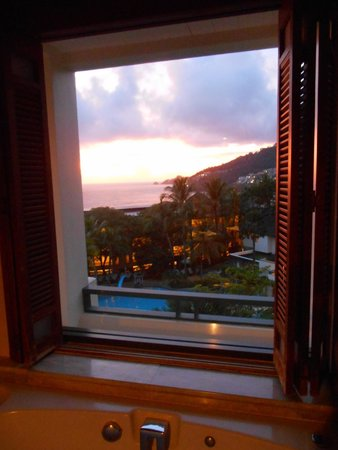 Diamond Cliff Resort and Spa: view from our spa