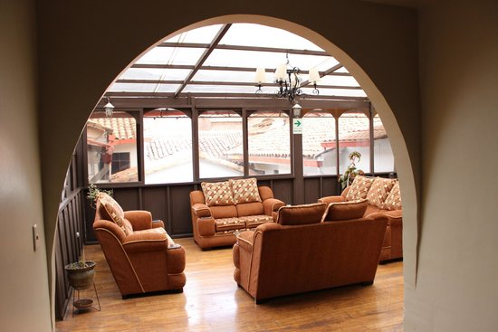 Santa Maria Hostal: Lobby