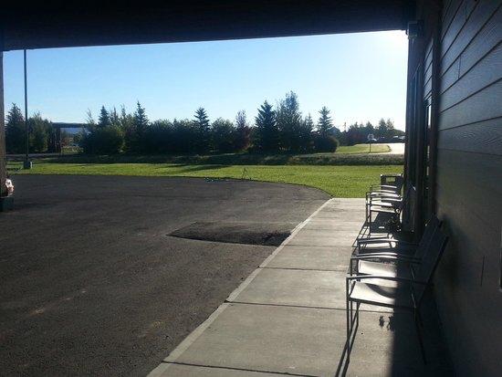 Eagle Peak Lodge & RV Park : Our Front Porch