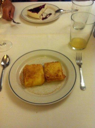 Restaurante San Ignacio: Leche frita