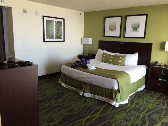 Perdido Beach Resort : The wash bowl king size bed