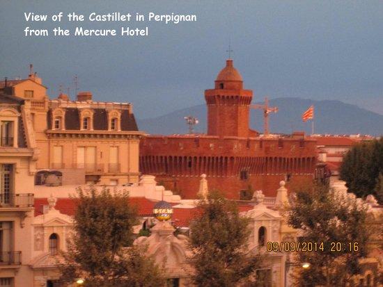Mercure Perpignan Centre : View of the Castillet from the Mercure, Perpignan