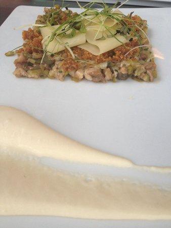 Restaurante Ni Neu : Tartar de secreto ibérico con mahonesa de limón