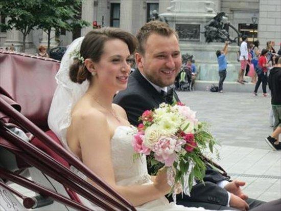 Basilique Notre-Dame de Montréal : A wedding at the church