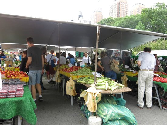 New York Food Tours : Farmer's Mkt