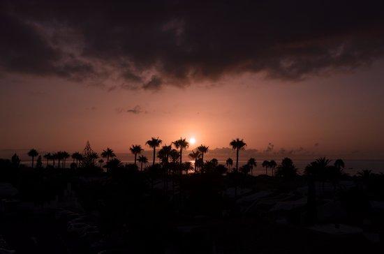 Los Aguacates : L'alba dalla nostra camera - El amanecer desde nuestra habitación