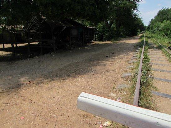 Bamboo Train: Il percorso