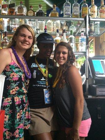 Ocho Rios Bay Beach: Our Bar staff