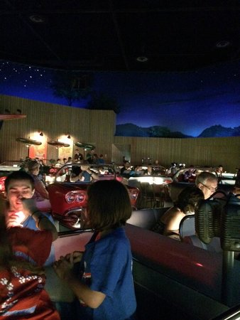 Sci-Fi Dine-In Theater : seating area