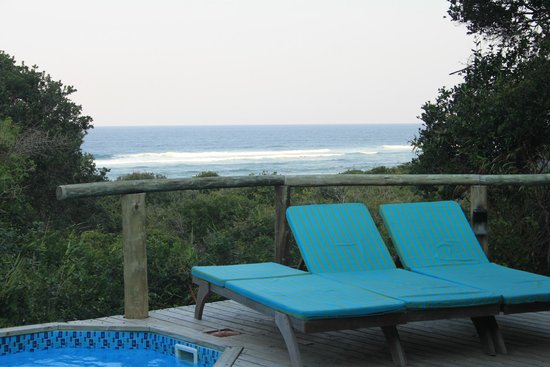 Thonga Beach Lodge: View from our balcony