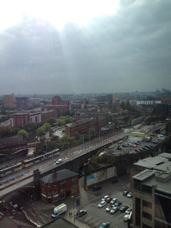Hilton Manchester Deansgate: South westerly view