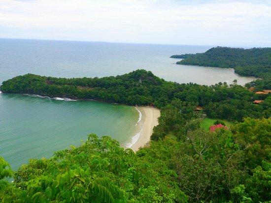 Dakak Park & Beach Resort: View from the top of repeater