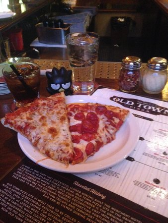 ... back half of the place - Picture of Old Town Pizza & Brewing, Portland