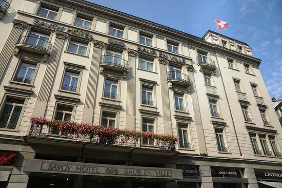 Savoy Baur En Ville: hotel main entrance