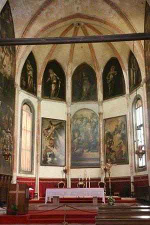 Chiesa della Madonna dell'Orto : Tintoretto's altar paintings