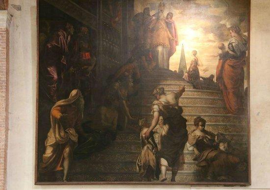 Chiesa della Madonna dell'Orto : Tintoretto's Presentation of the Virgin Mary