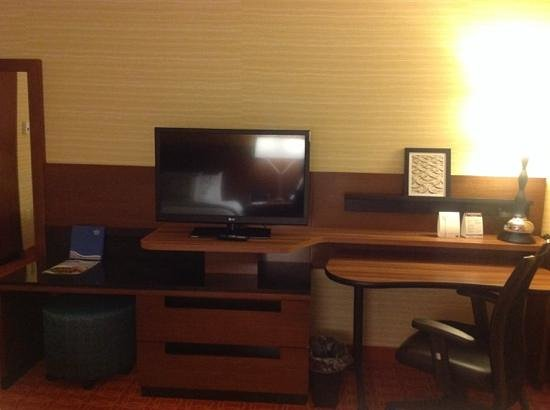 Fairfield Inn & Suites Winnipeg: Desk work area